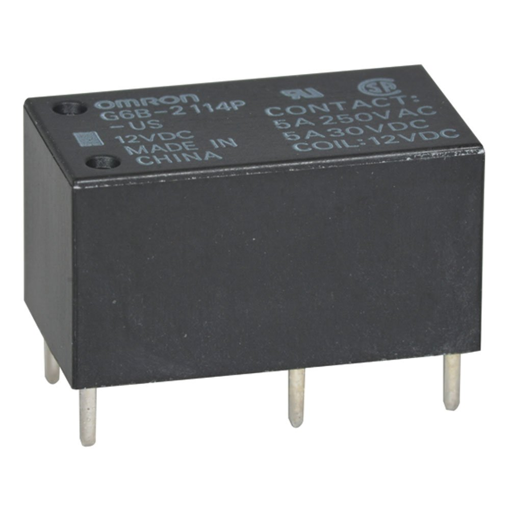 OMRON G2RL-1-E-12V Relay 16A  250VAC  SPDT 2 pcs Low Profile Relay