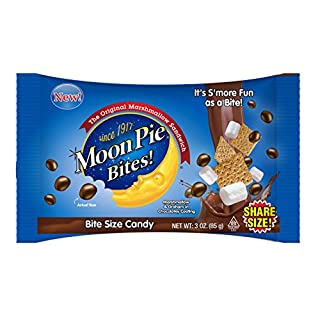 Taste of Nature Inc. Moon Pie Bites, 3 Ounce Bags (Pack of 12)
