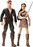 : DC Wonder Woman & Steve Trevor Action Figure, 2 Pack