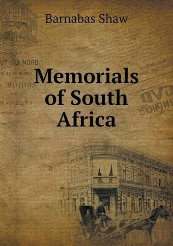 Download Memorials of South Africa pdf epub