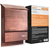 """Best Bat Boxes - INCLY Bat House Kit for Outdoors 15""""x9.2""""x3.2"""" Shelter Review"""