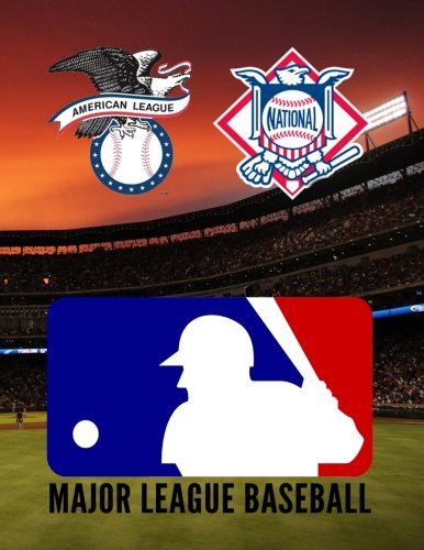 Major League Baseball Colouring Book: A great colouring book for kids and adults. It comprises of both leagues National and American with all 30 ... with information on the club and uniforms.