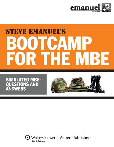 MBE Bootcamp: Simulated MBE: Questions & Answers (Bootcamp for the (Mbe Boot)