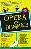 img - for Opera for Dummies by David Pogue (1997-09-23) book / textbook / text book