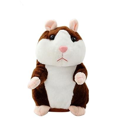 Adorable Interesting Speak Talking Record Hamster Mouse Plush Kids Toys Gift US