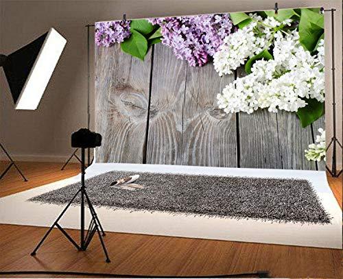 Leyiyi Nostalgic Wooden Board 8x6ft Photography Background Rural