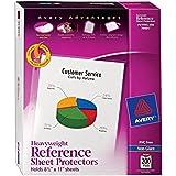 Avery Non-Glare Heavyweight Sheet Protectors, Top Loading, Box of 200 (74401)