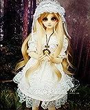 White Spirit Dress / Outfit Dress Suit 1/4 MSD BJD Dollfie / 100% Custom-made Doll Dress / 4 PCS
