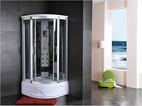 Cabina de ducha hidromasaje Sauna Baño Turco 80 x 80: Amazon.es: Hogar
