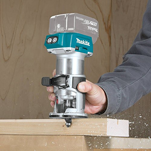 Makita XTR01Z 18V LXT Lithium-Ion Brushless Cordless Compact Router by Makita (Image #4)