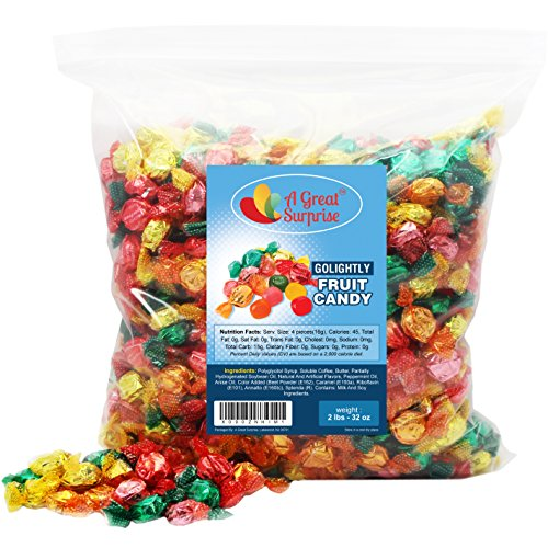 GoLightly Sugar Free Hard Candy Assorted Fruit Flavors - Go Lightly Sugar Free Candy, 2 LB Bulk Candy Go Lightly Licorice
