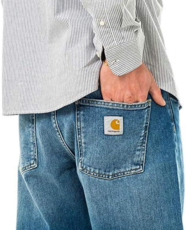 Carhartt Jeans Mann WIP Newel Pant I024905.01.WH: Odzież