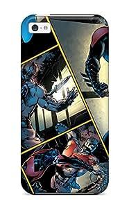 Benailey Premium Protective Hard Case For Iphone 5c- Nice Design - Nightwing
