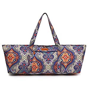 Well-Being-Matters 51GNetGjJOL._SS300_ ELENTURE Large Yoga Mat Bag for 1/4-Inch 1/3-Inch 2/5-Inch 1/2-Inch Extra Thick Exercise Yoga Mat, Exercise Yoga Bag…