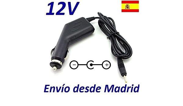 Cargador Coche Mechero 12V Reemplazo Tablet Carrefour CT1020W CT 1020W Recambio Replacement: Amazon.es: Electrónica