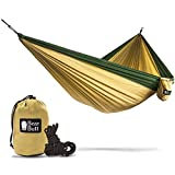 Bear Butt Double Parachute Hammock - Khaki / Dark Green