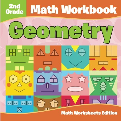 2nd Grade Math Workbook: Geometry | Math Worksheets Edition: Baby ...