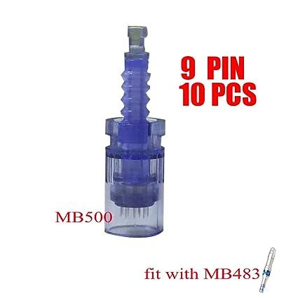 MISSAMMY 10 piezas de cartuchos de aguja para Ultima A6 Dr.Pen Skin ...