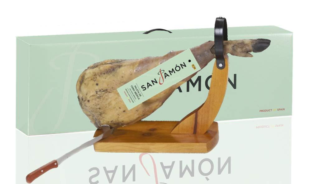 San Jamon Paleta Ibérica, Cuchillo y Jamonero, 4,5-5,2 kg