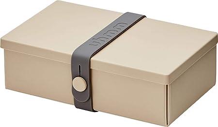 uhmm Box, Caja, Fiambrera, no. 1 Mocca Box/Dark Grey Strap ...