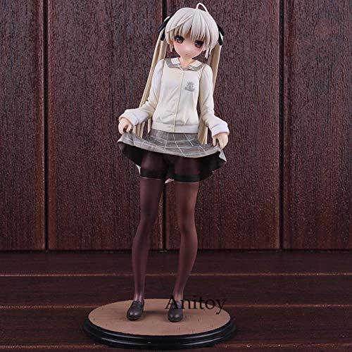 Anime Yosuga No Sora Kasugano Sora School Uniform Ver. 1/6 Scale Pre-Painted PVC Action Figure Collectible Model (Yosuga No Sora Cosplay Costume)