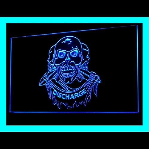 100059 Tattoo Skull Pirates Devil Art Shop Display LED Light Sign by Easesign