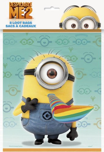 Despicable Me Favor Bags,