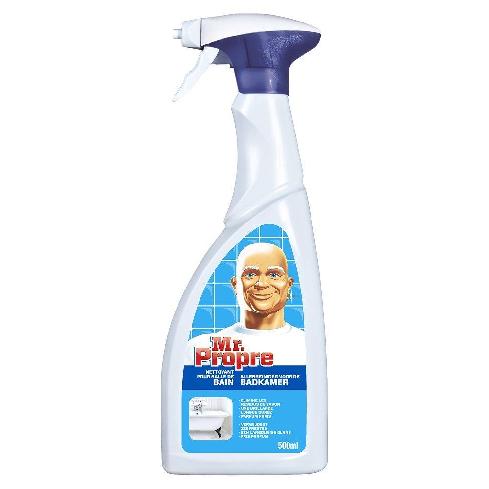 Bonne Odeur Dans La Salle De Bain ~ mr propre spray nettoyant salle de bains 500 ml lot de 3