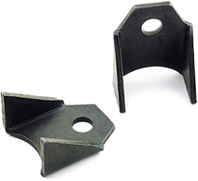 Pack of 2 Competition Engineering C3432 Gusseted Chassis Tab