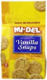 Mi-Del Swedish Style Cookies, Vanilla Snaps, 10 Ounce (Pack of 12)