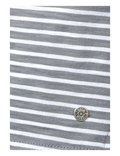 20498 shirt T Grigio Grey Light Cecil Donna graphit 04w5UUqA