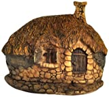 Top Collection Enchanted Story Garden and Terrarium Thatched Roof Fairy House Outdoor Decor, 2.25-Inch Review