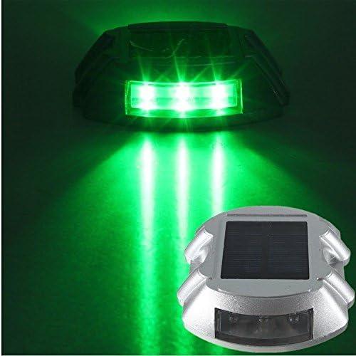 D DOLITY Foco LED de Suelo Solar Bombilla empotrables para Suelo Jardín Lámpara, Verde: Amazon.es: Jardín
