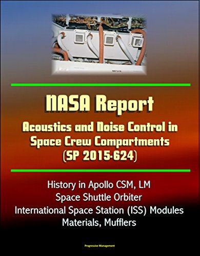 Muffler Material - NASA Report: Acoustics and Noise Control in Space Crew Compartments (SP 2015-624) - History in Apollo CSM, LM, Space Shuttle Orbiter, International Space Station (ISS) Modules, Materials, Mufflers