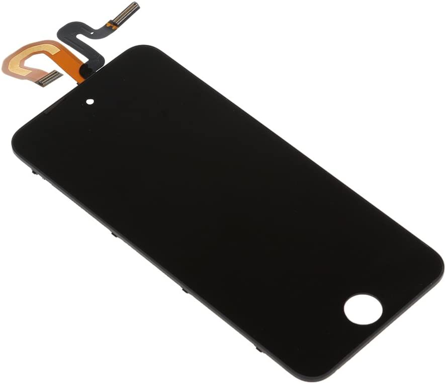 Black Front Glass Touch Screen Digitizer LCD Display Assembly for iPod Touch 5