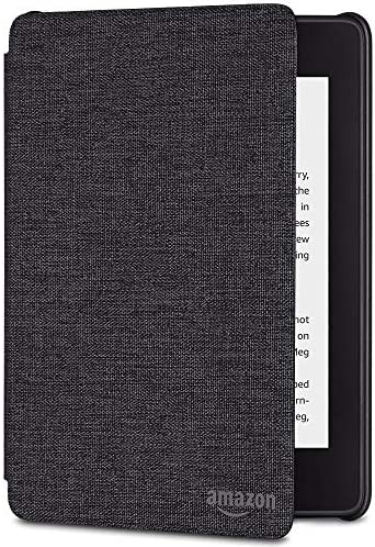 Kindle Paperwhite Water-Safe Fabric Cover (10th Generation-2018), Charcoal Black