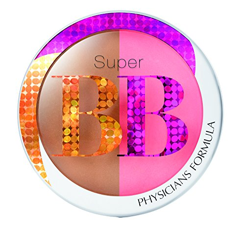 Physicians Formula Super BB All-in-1 Bronzer and Blush SPF 30, Light/Medium, 0.29 Ounce