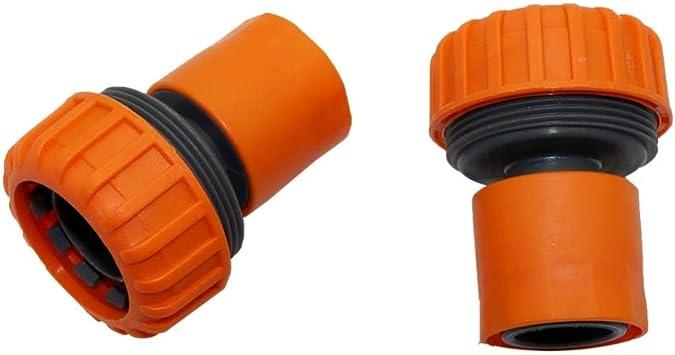 1 PC 25 mm manguera conector rápido 1 pulgadas grifo de agua jardín conectores de riego coche lavado manguera tubo adaptador de acoplamiento: Amazon.es: Bricolaje y herramientas