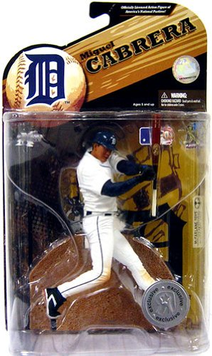 McFarlane Toys MLB Sports Picks Exclusive Series 23 Action Figure Miguel Cabrera (Detroit Tigers) - Exclusive Mcfarlane Toy
