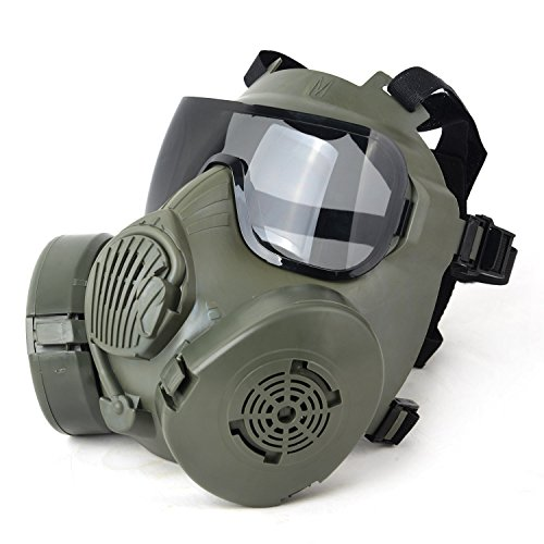 tactical paintball full face mask m50