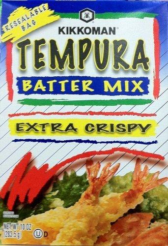 Kikkoman, Extra Crispy Tempura Batter Mix, 10oz Box (Pack of 4) by Kikkoman