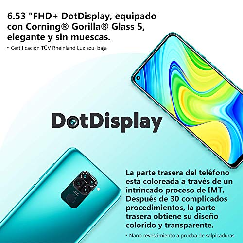Xiaomi Redmi Note 9 128GB 4GB RAM - Versão Global - Midnight Grey (Midnight Grey)