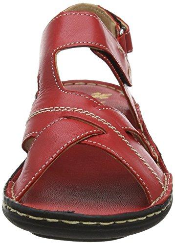 Sandales Femme Bout V9173 rosso Rieker Rouge Fermé aIT5wxv