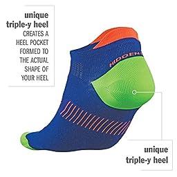Balega Hidden Dry 2 Moisture-Wicking Socks, White, Small, 1-Pair
