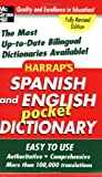 Harrap's Spanish and English Pocket Dictionary (Harrap's Dictionaries), Harrap's, 0071456694