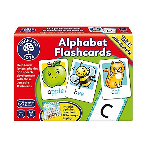과수원 장난감 알파벳 플래시 카드 어린이 게임 멀티 한 사이즈