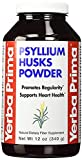 Yerba Prima, Psyllium Husks Powder, 4 Pack (12 oz (340 g)) Dietary Fiber for Promoting Regularity