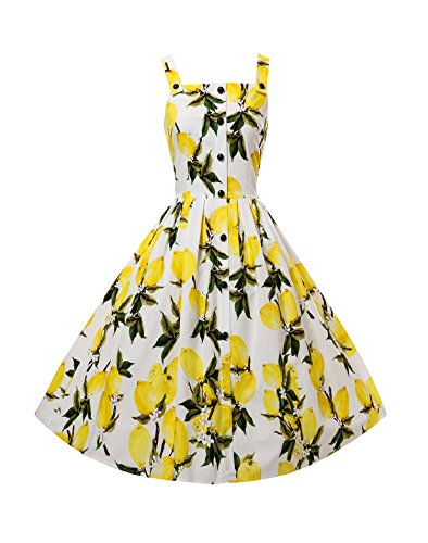LUOUSE-Women-Vintage-Floral-Strappy-Rockabilly-Cocktail-Swing-Tea-Dresses