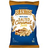 Beanitos White Bean Salted Caramel Twists Gluten Free Non-GMO Vegetarian Corn Free Trans Fat Free Plant Based Sweet Snack 6.5 Ounce