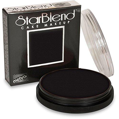 Mehron Starblend Cake Makeup - Black (2 oz)